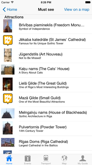 Riga Travel Guide Offline iPhone Screenshot 3