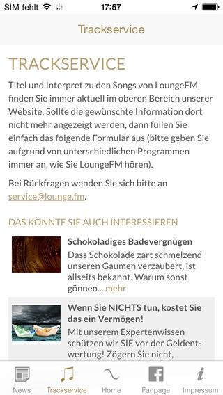LoungeFM Radio iPhone Screenshot 3