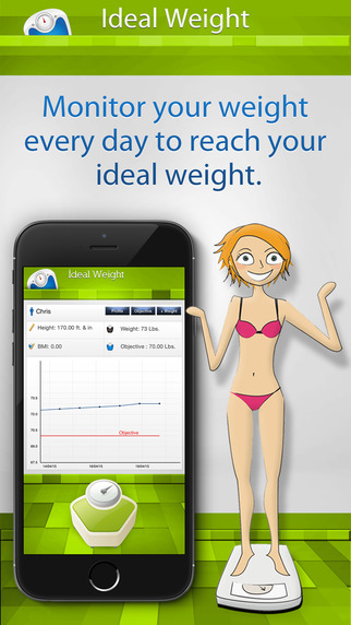 Ideal Weight FREE: Follow your weight daily