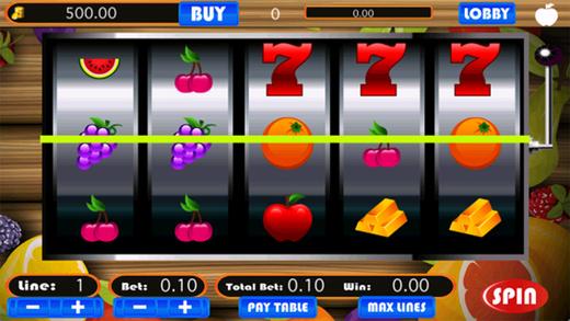 slot machines free fruit