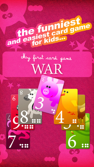 My First Card Game: War