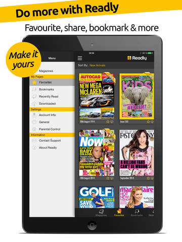 Readly – The Ultimate Magazine Newsstand w