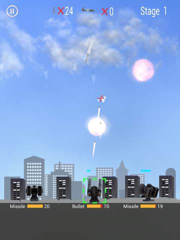 Missile Defender for iPad