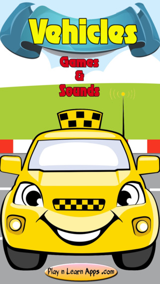 Car Games For Kids Sounds Puzzles Taxi Driver For Toddlers