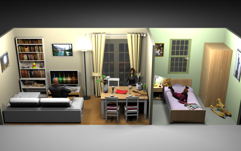 sweet home 3d na mac app store. Black Bedroom Furniture Sets. Home Design Ideas