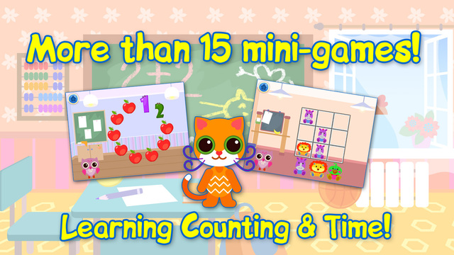 Educational Games For Children: Learning Numbers Time. Free.