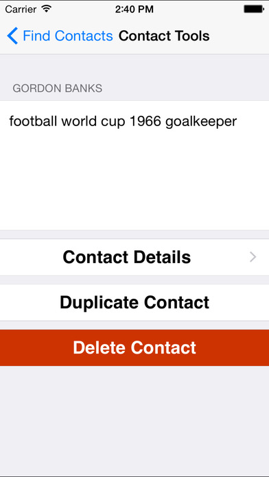 FindContacts iPhone Screenshot 4