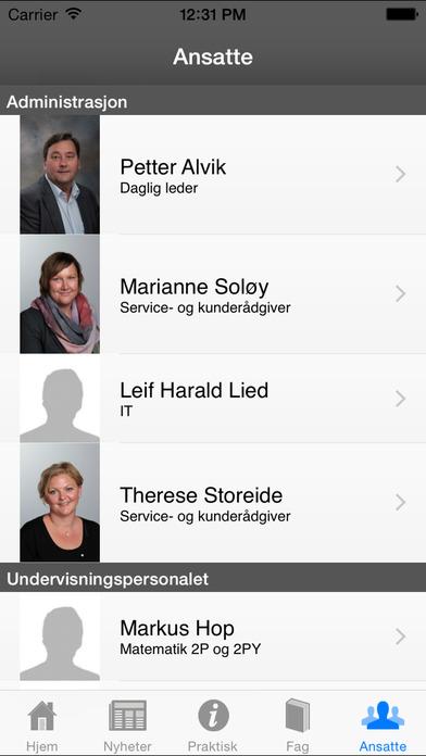 Akademiet privatist iPhone Screenshot 5