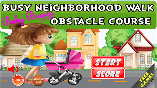 Busy Baby Buggy Neighborhood Walk Obstacle Course