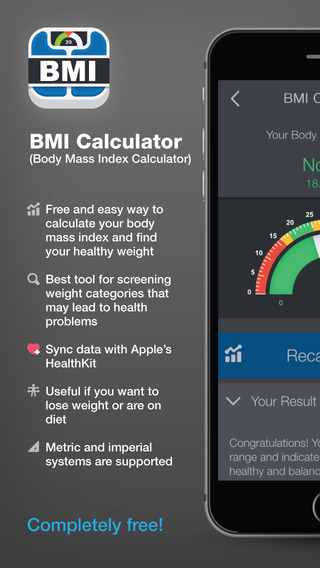 BMI Body Mass Index Calculator – calculate your healthy weight for your diet or training