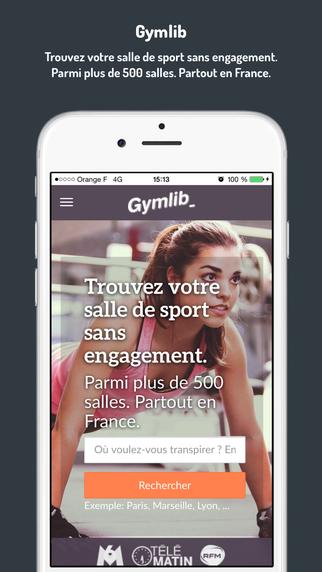 Gymlib - La façon simple économique de faire du sport