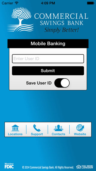 Commercial Savings Bank Mobile Banking