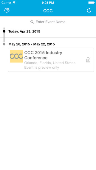 CCC Industry Conference App