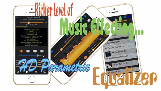 HD Music Parametric Equalizer