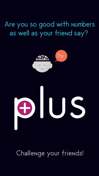Screenshots for Plus: a math game