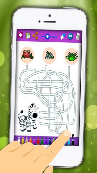 Maze games for children - Premium