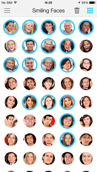 Smiling Faces ~ Create happy photos with funny effects