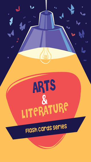 Arts And Literature Flash Card Series Pro