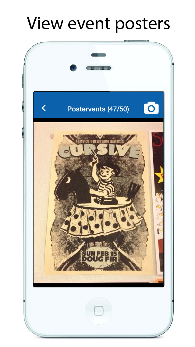 PosterVents - See Posters and Flyers on a Local Event Calendar