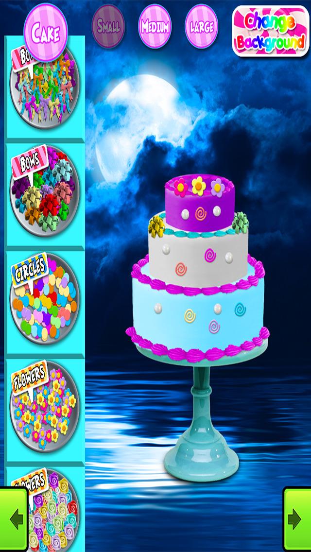 Virtual Cake Decorating Games