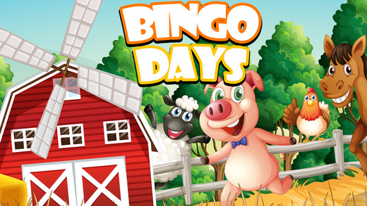 Bingo Days - Lucky Animal Edition With Multiple Daubs