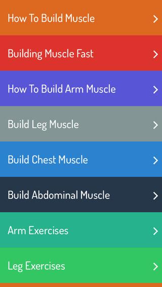 【免費健康App】How To Build Muscle - Muscle Building Guide-APP點子