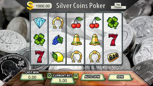 AAA Silver Coins Poker Slots - FREE Slot Game Big Jackpot Joy of Winning
