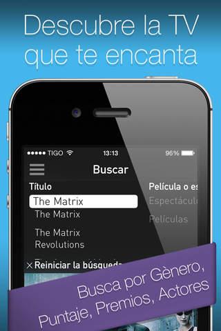 YO.TV Colombia Guía de TV screenshot 4