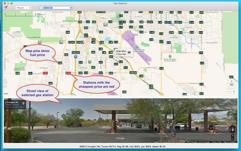 Gas Stations Screenshot - 1