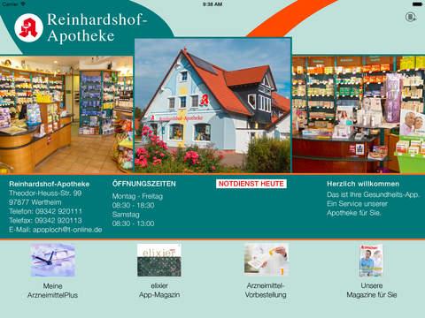 Reinhardshof-Apotheke Wertheim