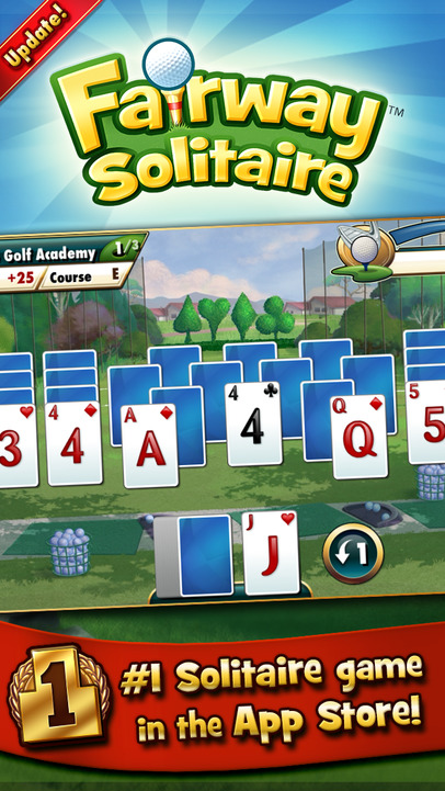 Fairway solitaire by big fish ios store store top apps for Best fishing game app