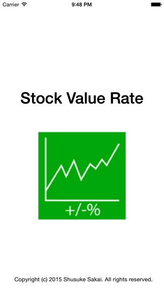 Stock Value Rate