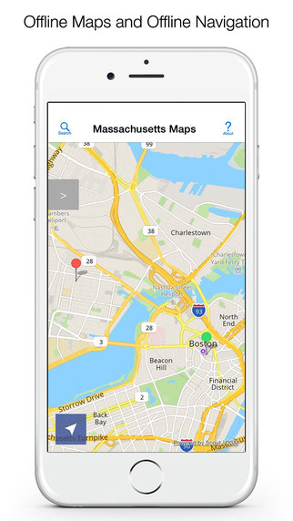 Massachusetts Offline Maps and Offline Navigation