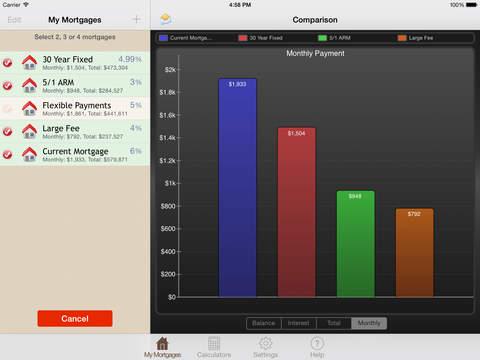 My Mortgage Mentor - Calculator, Analysis & Comparison iPad Screenshot 5