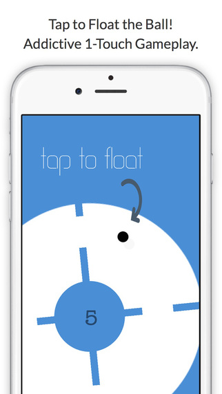 Float the Ball - Impossible Flap Race