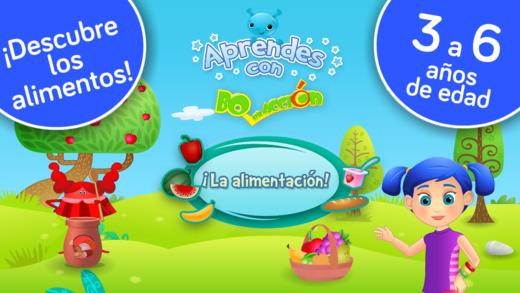 ¡Nutrición y alimentación balanceada Juegos educativos para niños en kinder y preescolar para aprend