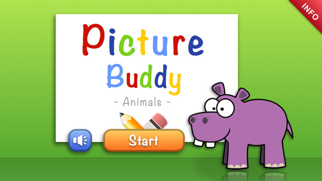 Picture Buddy Animals - Kids drawing and coloring