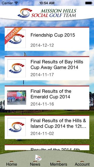 Mission Hills Social Golf Team