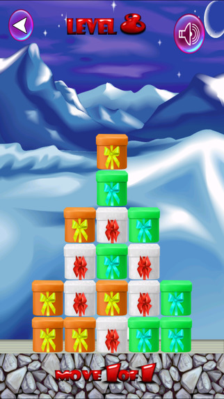 Move The Santa Gifts - A Christmas Holiday Tree Un-Boxing Puzzle For Kids FULL by Golden Goose Produ