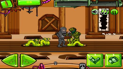 【免費遊戲App】Ninja Cop Clash!-APP點子