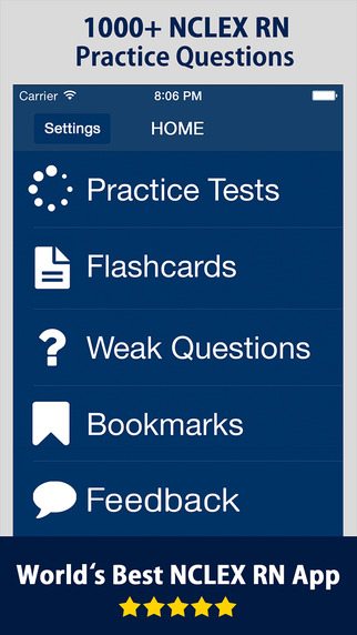 NCLEX RN Exam Practice Question Prep Review 2015 for Registered Nurse Test