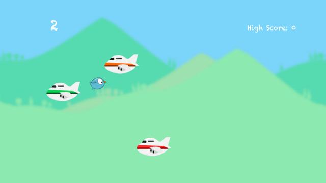 Bird Shredder - Sail through the gap to avoid disaster