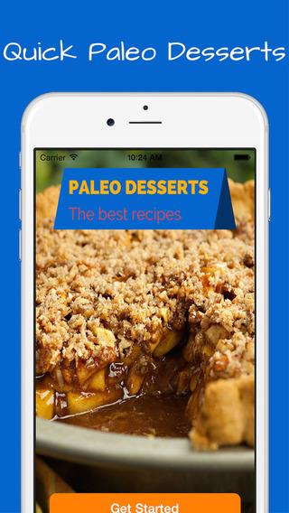 Paleo Desserts Recipes + bonus diet cookies breads flour pasta drinks and smoothies.