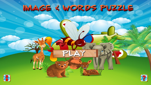 Image and Words Puzzle for Kids LITE