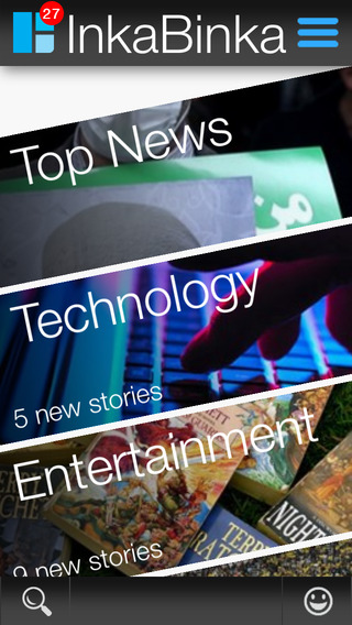 InkaBinka: Visual news summaries in 20 seconds
