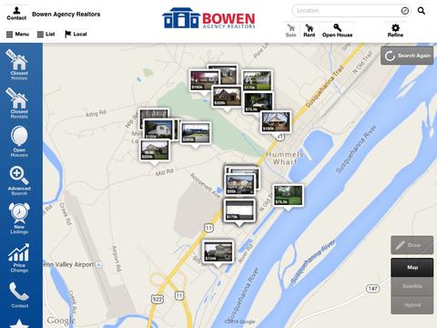 Bowen Agency Realtors for iPad