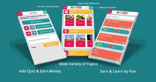 Quizi-Play Quiz Make Quiz Earn Money