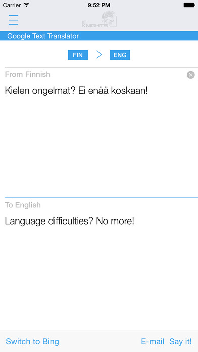 Finnish English Dictionary & Translator iPhone Screenshot 3