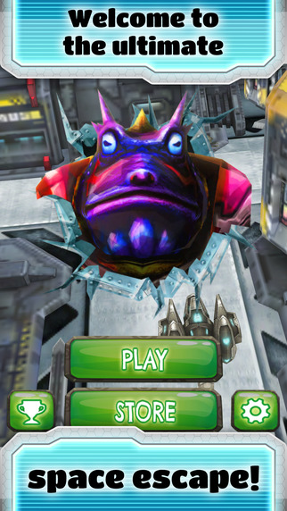 Manic Space Toad Dash - FREE - Sci-Fi Planet Endless Runner Game