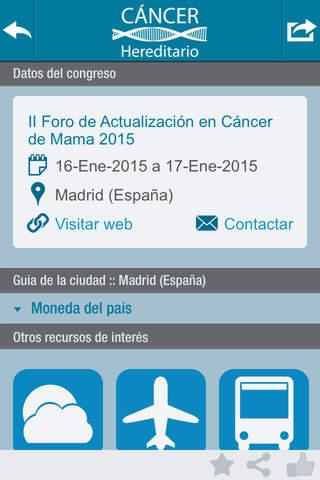 My Onco Events screenshot 1
